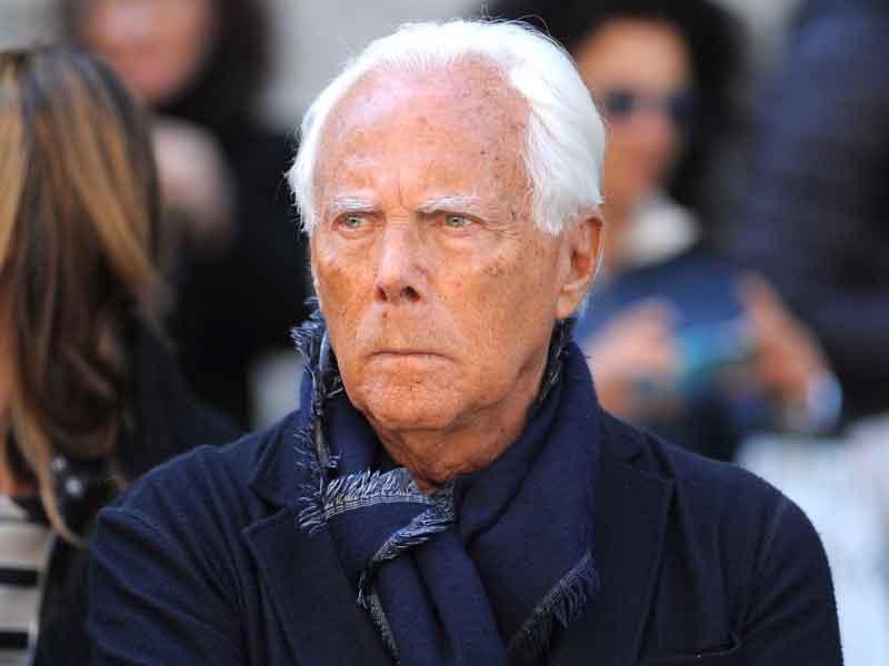 Giorgio Armani se comprometió a no usar más pieles en sus prendas