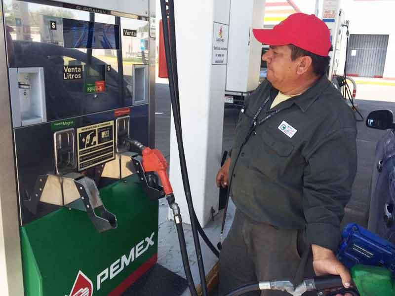Aumenta mañana la gasolina 52 centavos