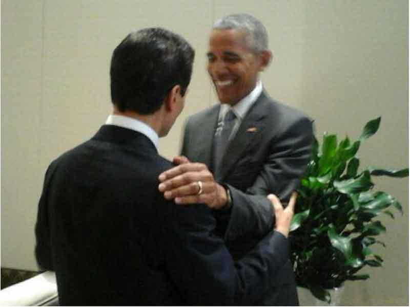 Obama y un elogio a Macri por