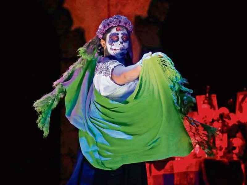Desfile de día de Muertos todo un éxito en CDMX