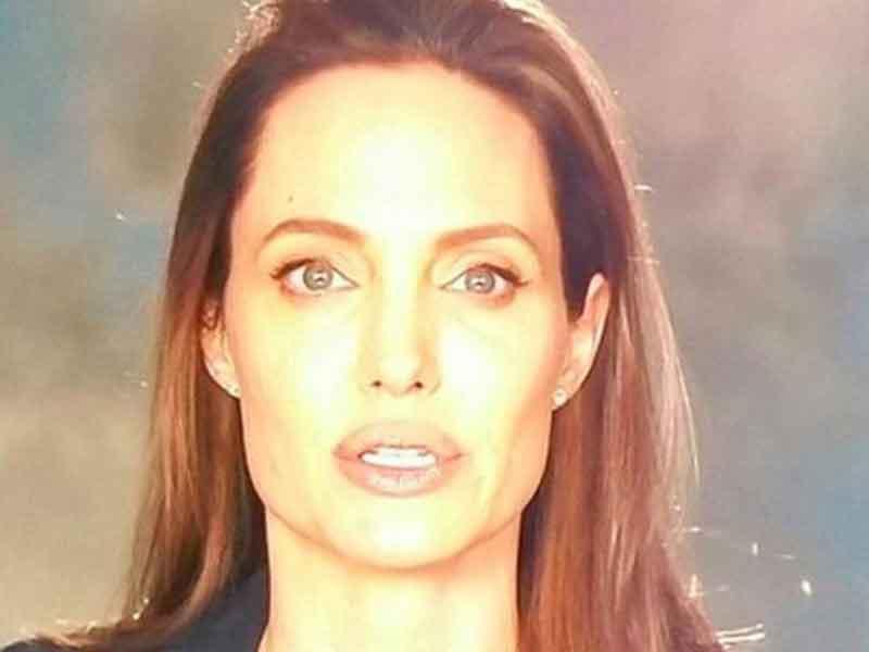 Angelina Jolie reapareció tras polémica por su divorcio
