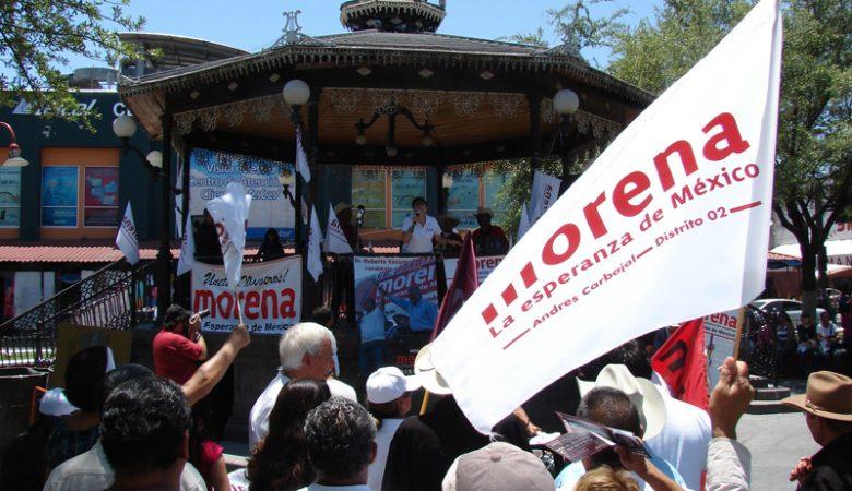 Morena en Ciudad Juárez, Chihuahua