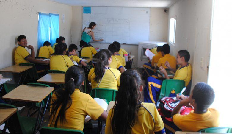 aulas; escuelas; regreso a clases