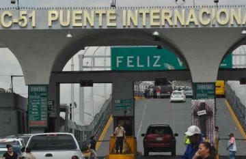 puentes internacionales, cruces Covid