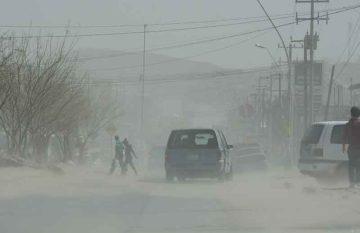 Vientos en Ciudad Juárez