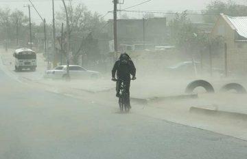 Protección Civil emitió una alerta por fuertes vientos