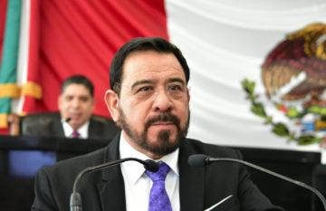 Miguel Ángel Colunga, presidente de la Comisión de Fiscalización.