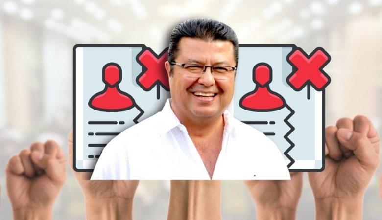 Revocación de mandato a Armando Cabada