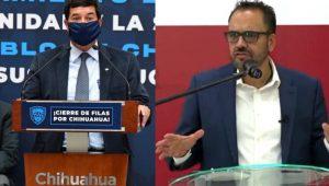 Javier Corral y Juan Carlos Loera