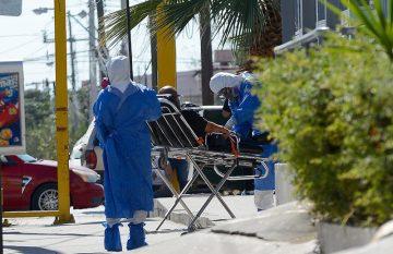 personal de salud transporta a contagiado de Covid