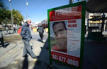 Pesquisa del militar estadounidense desaparecido