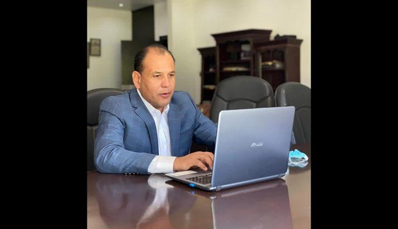 Omar Bazán, dirigente estatal del PRI