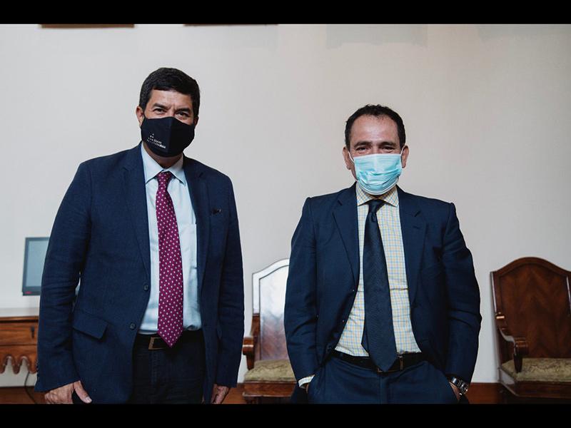 Javier Corral y Arturo Herrera