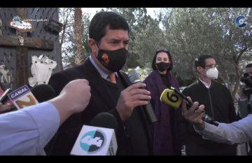 Javier Corral, en declaraciones a medio por caso de Maru Campos