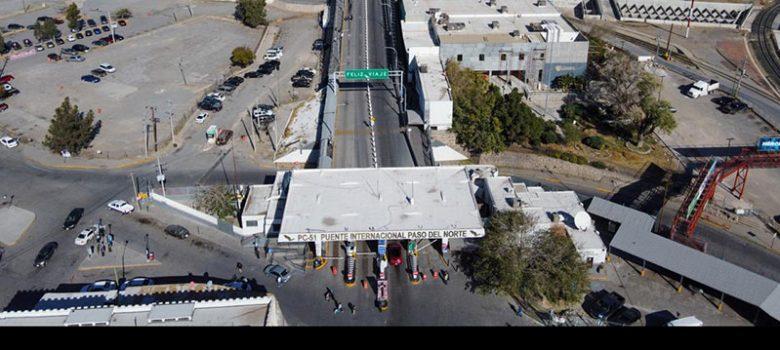 El Paso EU, puentes internacionales, migrantes, frontera