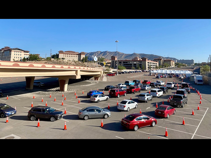 Pruebas Covid en El Paso