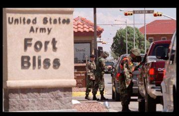 Fort Bliss; refugiados afganos