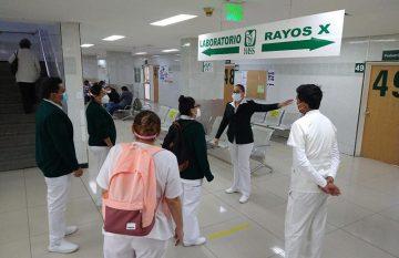 IMSS, enfermeras