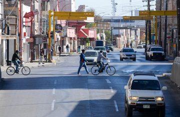 Calle de Juárez, durante cierre de negocios para evitar contagios