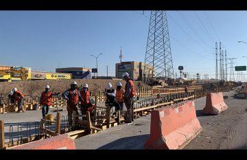Tráfico en las Torres por obras