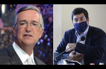 Ricardo Salinas Pliego y Javier Corral