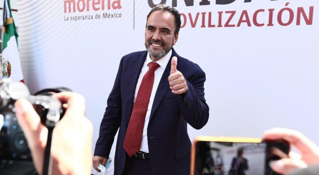 Juan Carlos Loera, ganador de la encuesta de Morena para definir al candidato a la gubernatura de Chihuahua