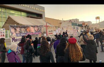 manifestación de feministas del 17 de diciembre