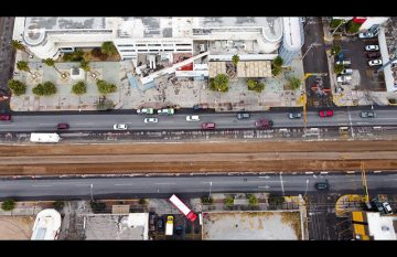 Obras del BRT 2, que dificultan el acceso a las áreas de emergencias de hospitales
