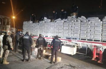 Megacargamento de drogas decomisado el fin de semana en Juárez