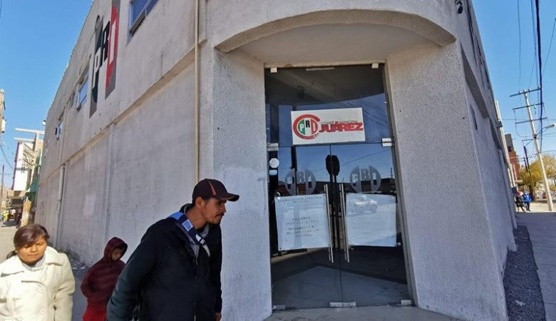 Sede del PRI en Ciudad Juárez