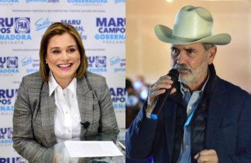 Maru Campos y Gustavo Maderos, precandidatos del PAN, tendrán un debate