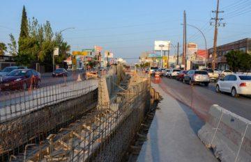 Obras de infraestructura en Juárez