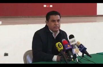 Alejandro Domínguez, presidente del Comité Directivo Estatal del PRI