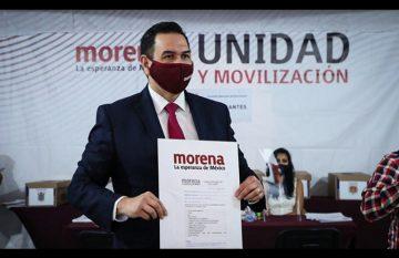 Cruz Pérez Cuéllar impugnó la elección interna de Morena