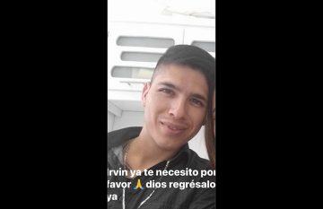 Irvin Zaragoza, desaparecido