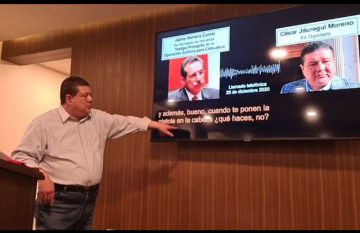 César Jáuregui presenta pruebas de que caso contra Maru Campos está armado