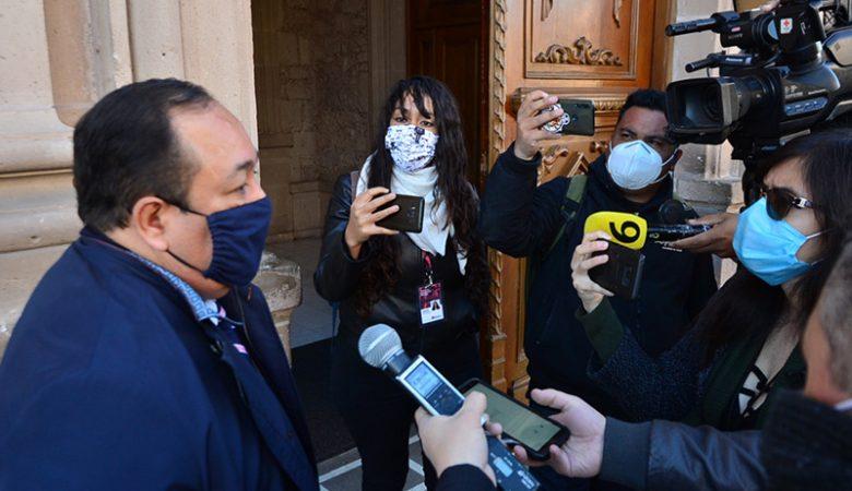 Jorge Espinoza, consejero jurídico que supervisa el caso Duarte