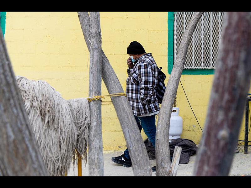 José Madrid, inmigrante en espera de cruzar a Estados Unidos