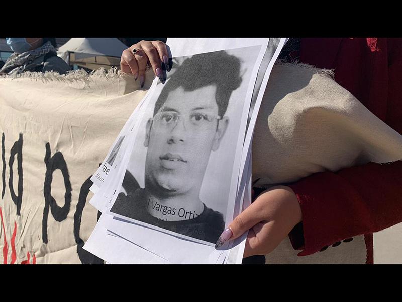 Aspectos del acto por el homicidio del estudiante Juan Daniel Vargas