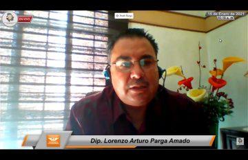 Arturo Parga, líder de la bancada de Movimiento Ciudadano en el Congreso