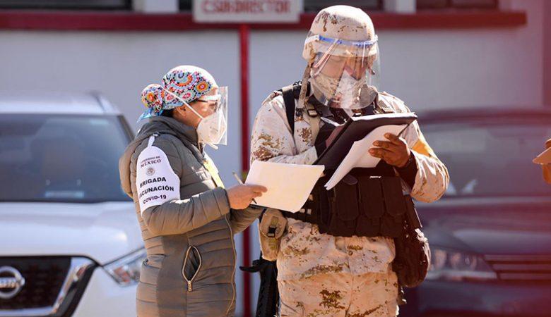 La Sedena custodió los hospitales donde se aplicó la vacuna Covid