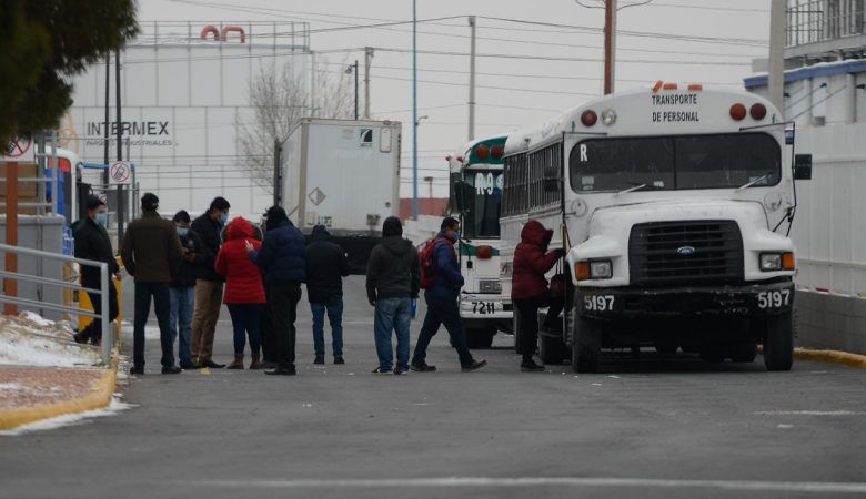 Camiones de transporte de personal