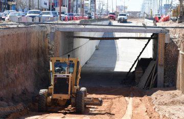 Obras del corredor multimodal Francisco Villarreal