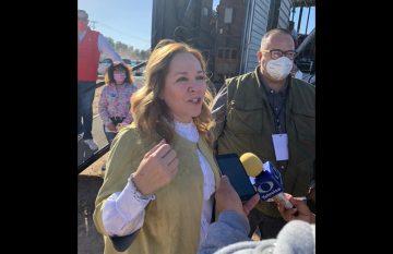 Adriana Fuentes criticó la imposición del BRT a los juarenses