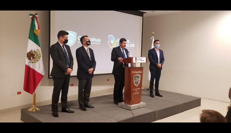 Javier Corral anuncia cambios en su gabinete