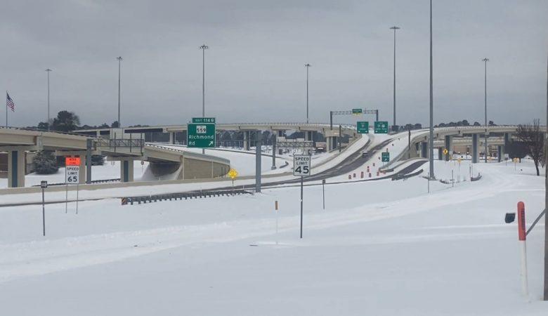 El Paso durante la tormenta invernal de febrero de 2021