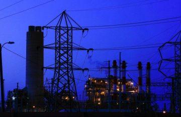 Planta eléctrica que funciona a base de gas, superapagón