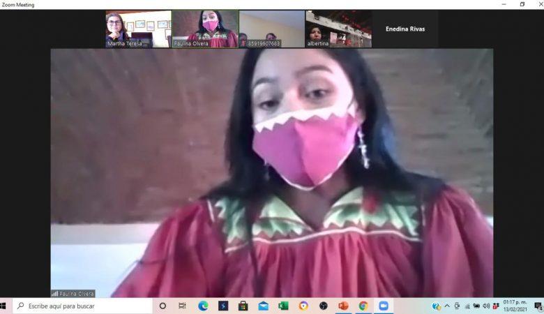 """""""Mujeres indígenas participantes de procesos políticos-electorales"""", del IEE y CAMT"""