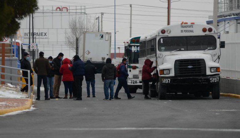 La suspensión del suministro de gas en la industria forzó a las empresas a regresar a sus empleados a sus casas