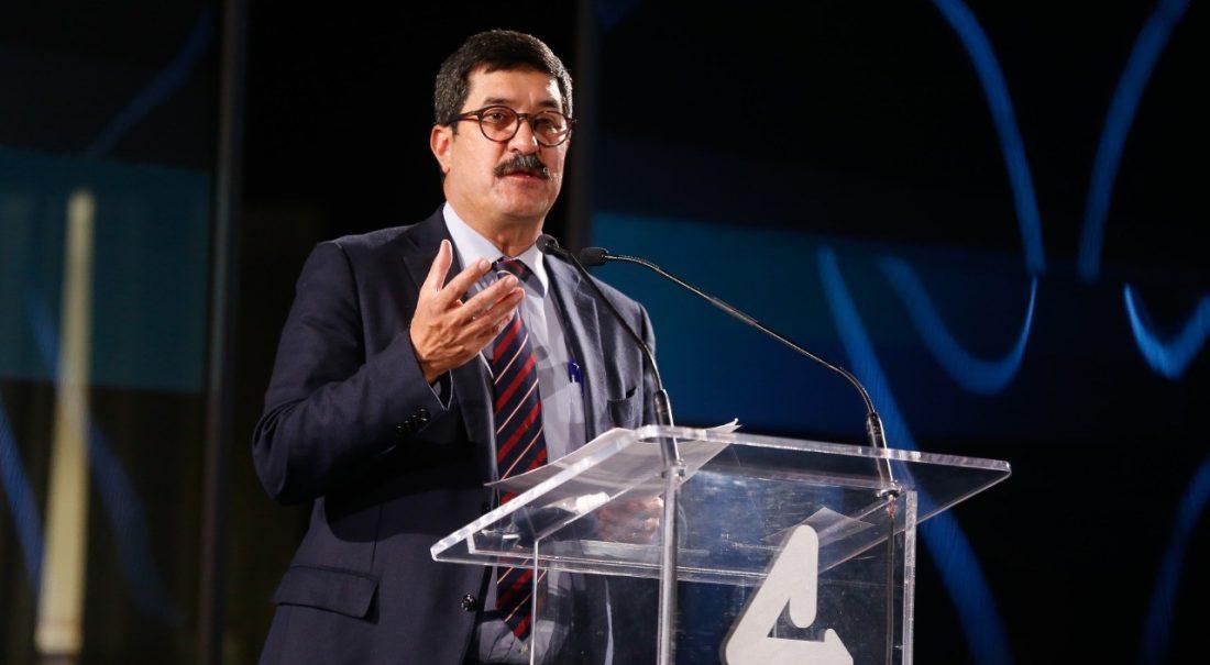 Javier Corral en su IV Informe en Ciudad Juárez